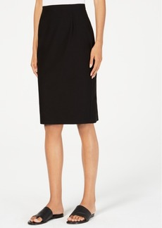 854ac3267 Eileen Fisher Knit Washable Crepe Pencil Skirt, Regular & Petite
