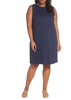 Eileen Fisher Knit Shift Dress (Plus Size)