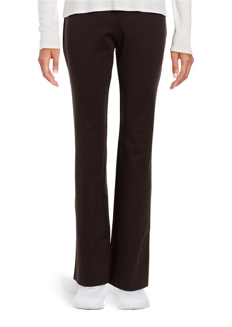 EILEEN FISHER Knit Straight-Leg Pants