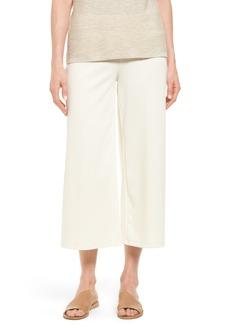 Eileen Fisher Knit Wide Leg Crop Pants
