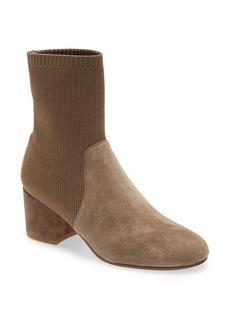 Eileen Fisher Knollis Knit Block Heel Boot (Women)