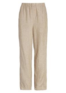 Eileen Fisher Lantern Organic Linen Ankle Pants (Regular & Petite)