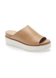 Eileen Fisher Level Platform Slide Sandal (Women)