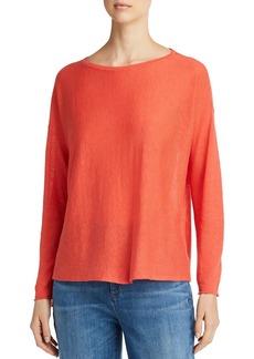Eileen Fisher Lightweight Cropped Sweater