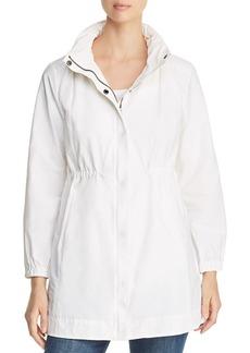 Eileen Fisher Lightweight Hidden-Hood Jacket