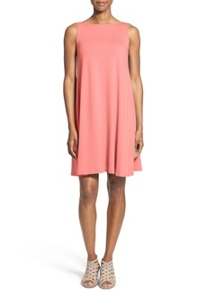 Eileen Fisher Lightweight Jersey Shift Dress (Regular & Petite) (Nordstrom Exclusive)