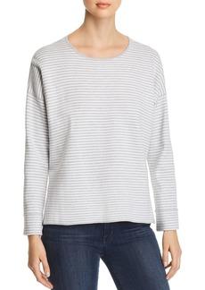 Eileen Fisher Lightweight Striped Sweater