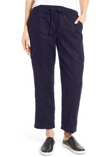 Eileen Fisher Linen Cargo Pants (Regular & Petite)