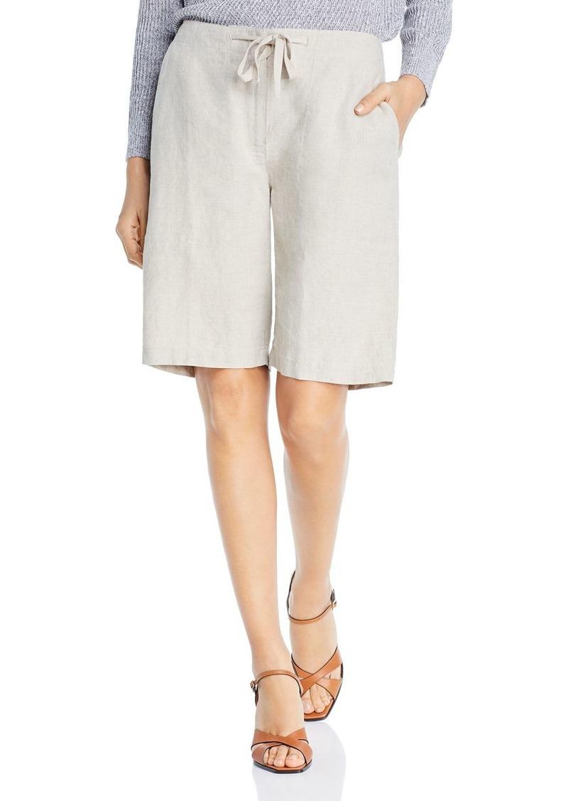 Eileen Fisher Linen Drawstring Shorts