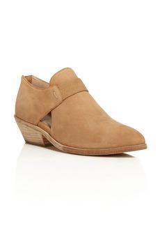 Eileen Fisher Lisbon Nubuck Leather Booties
