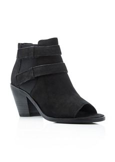 Eileen Fisher List Open Toe Booties