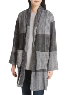 Eileen Fisher Long Cotton Jacket