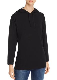 Eileen Fisher Long Hooded Top