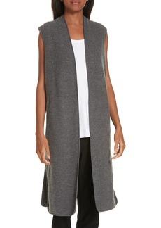Eileen Fisher Long Merino Wool Vest