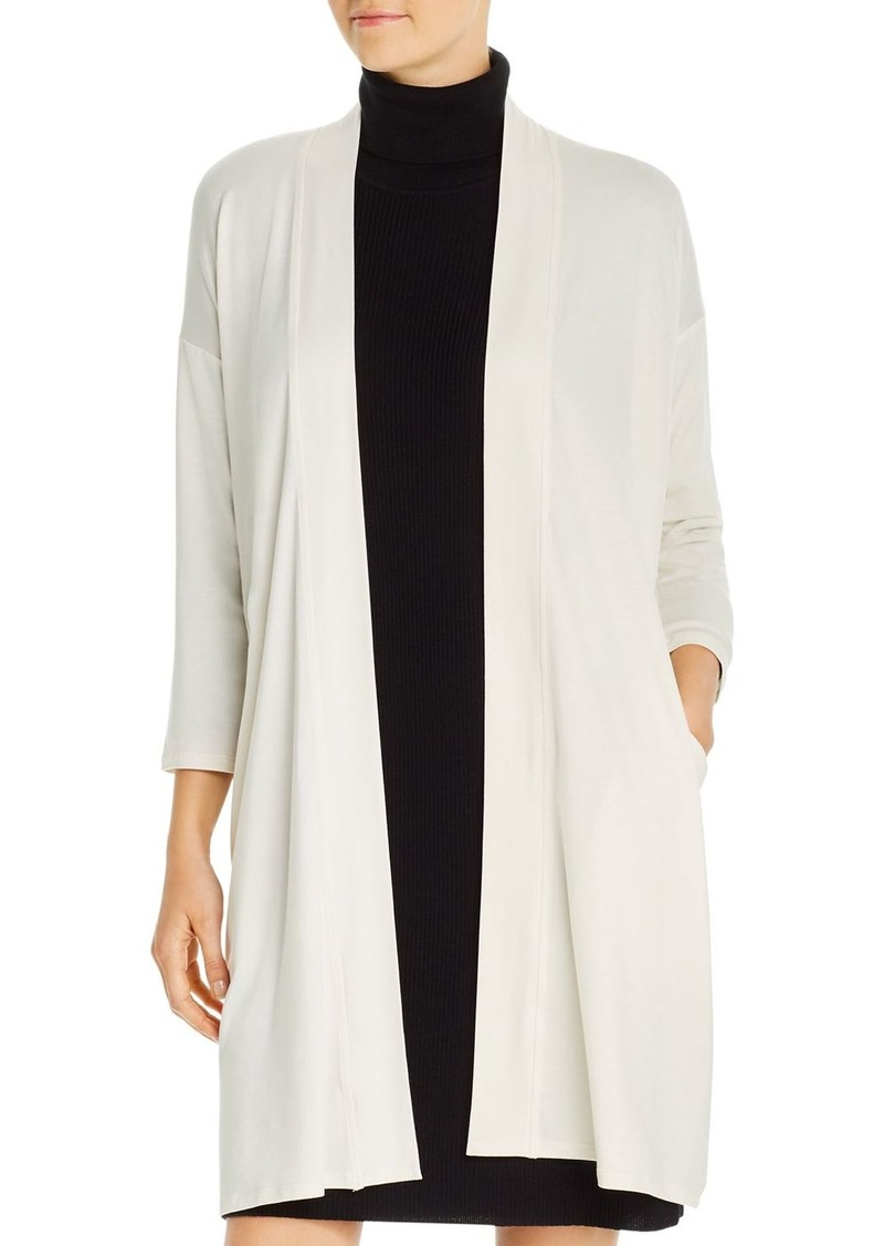 Eileen Fisher Long Open Cardigan