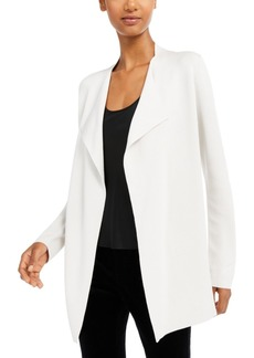 Eileen Fisher Long Open-Front Jacket