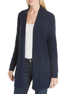Eileen Fisher Long Organic Cotton Blend Cardigan (Regular & Petite)