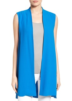 Eileen Fisher Long Silk Vest