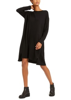 Eileen Fisher Long-Sleeve Dress, Regular & Petite