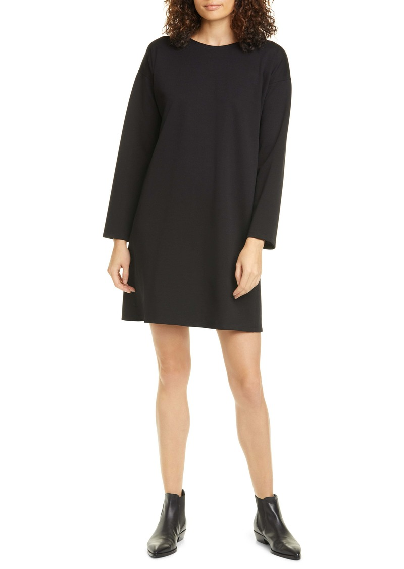 Eileen Fisher Long Sleeve T-Shirt Dress