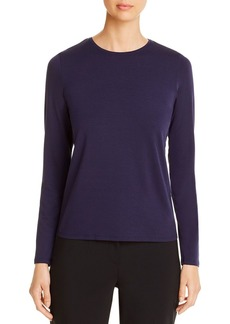 Eileen Fisher Long-Sleeve Tee