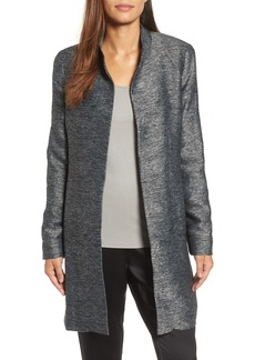 Eileen Fisher Long Tweed Jacket