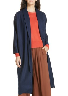Eileen Fisher Long Wool Jacket (Regular & Petite)