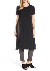 Eileen Fisher Long Wool Knit Tunic