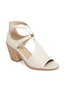 Eileen Fisher Lou Block Heel Sandal (Women)