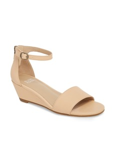 Eileen Fisher Mara Ankle Strap Wedge Sandal (Women)