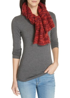 Eileen Fisher Marled Knit Scarf