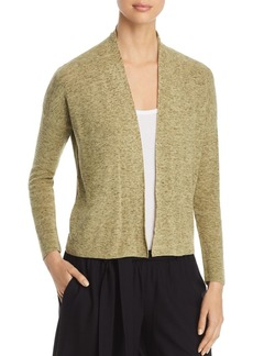 Eileen Fisher Marled Open-Front Cardigan