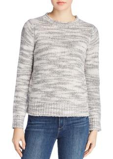 Eileen Fisher Marled Wool & Silk Sweater
