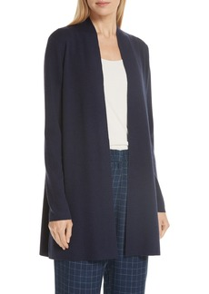Eileen Fisher Merino Straight Long Cardigan (Regular & Petite)