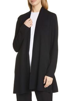 Eileen Fisher Merino Straight Long Cardigan (Regular & Petite)