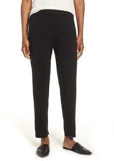 Eileen Fisher Merino Wool Ankle Pants
