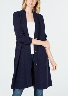 Eileen Fisher Merino Wool Duster Cardigan, Regular & Petite Created for Macy's
