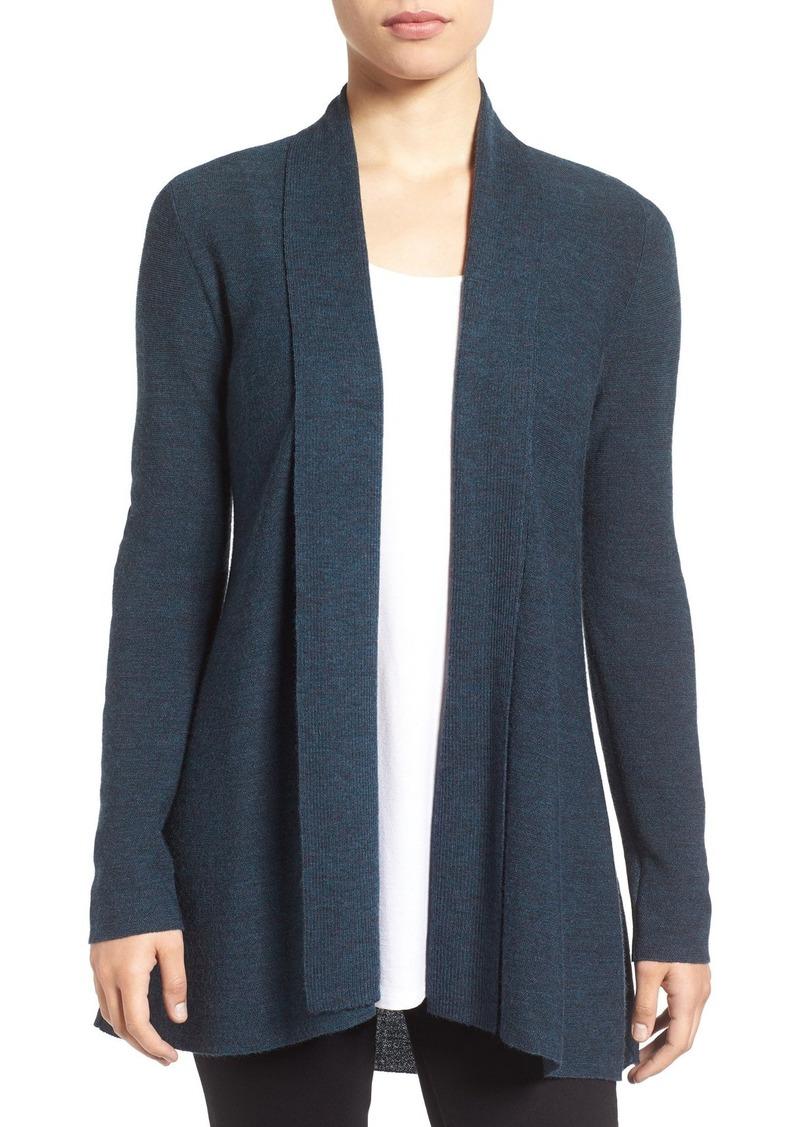 Eileen Fisher Merino Wool Shaped Cardigan (Regular & Petite)