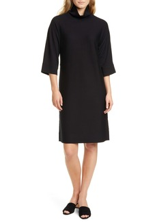 Eileen Fisher Merino Wool Shift Dress