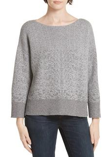 Eileen Fisher Metallic Knit Sweater