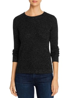 Eileen Fisher Metallic Waffle-Knit Sweater