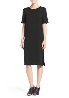 Eileen Fisher Midi Shift Dress (Regular & Petite)