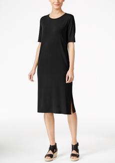 Eileen Fisher Midi T-Shirt Dress