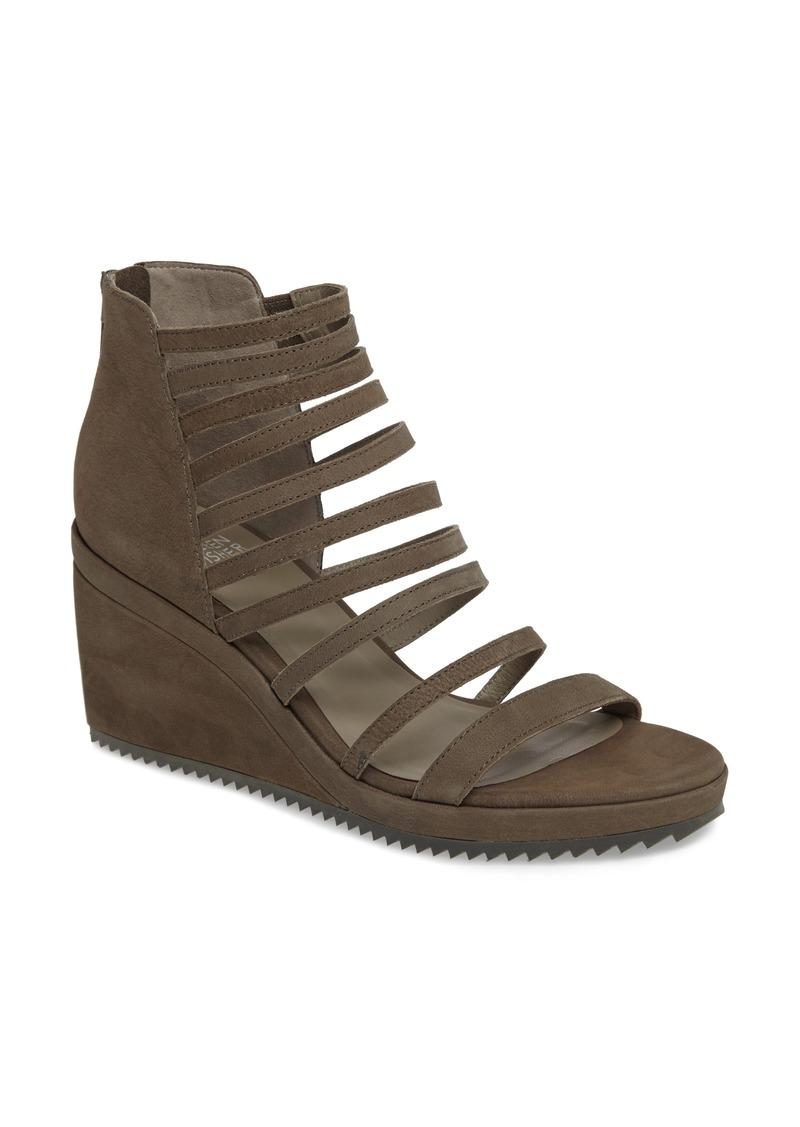90e17608ecdd Eileen Fisher Eileen Fisher Milly Strappy Wedge Sandal (Women)