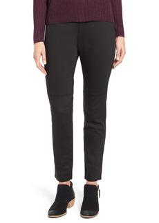 Eileen Fisher Mixed Media Slim Leg Pants