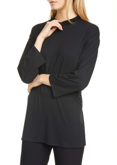 Eileen Fisher Mock Neck Tunic