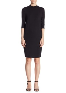 Eileen Fisher Mockneck Sheath Dress