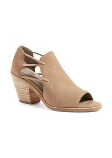 Eileen Fisher Nikki Peep Toe Sandal (Women)