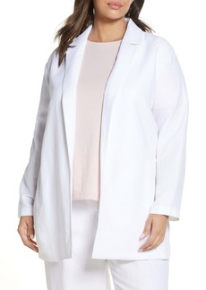 Eileen Fisher Notch Collar Blazer (Plus Size)