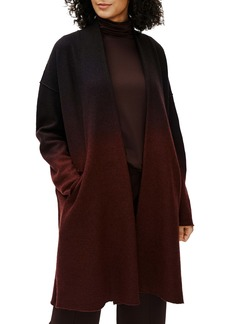 Eileen Fisher Ombré Boiled Wool Coat
